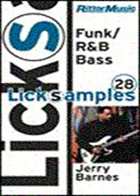 Funk R&B Bass Licksamples