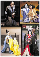 Masterpieces of Kabuki Theatre Series Vol. 1-33.