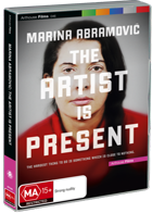 Marina Abramovic: The Artist is Present (Stocktake - Last DVD Copy)