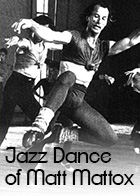 Jazz Dance of Matt Mattox