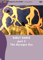 Early Dance Part 2: The Baroque Era