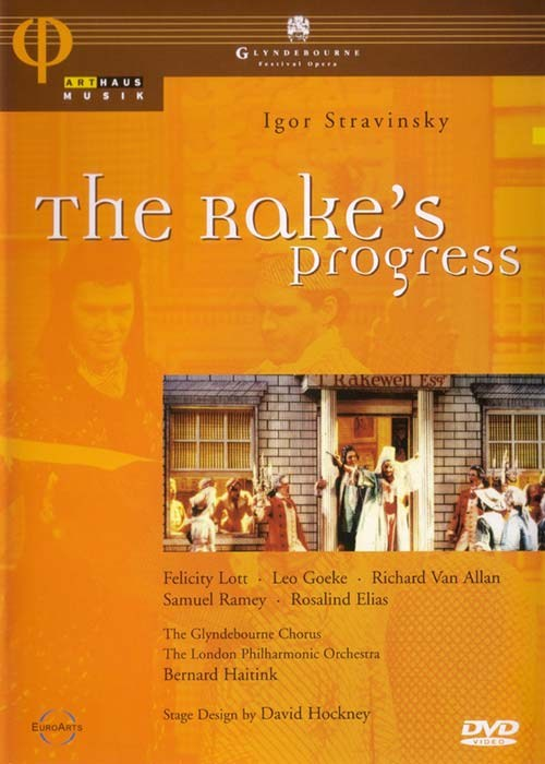 Stravinsky - The Rakes Progress STOCKTAKE (Last Copy)
