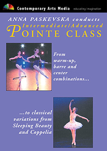 Anna Paskevska Conducts Intermediate, Advanced Pointe Class