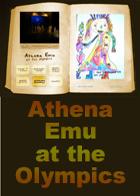 Athena Emu at the Olympics