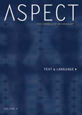Aspect IV - The Chronicle of New Media: Text and Language