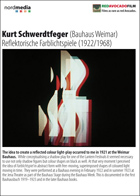 Kurt Schwerdtfeger (Bauhaus Weimar): Reflecting Colour-Light-Play