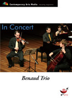 In Concert - Benaud Trio - Ross Edwards - Franz Schubert
